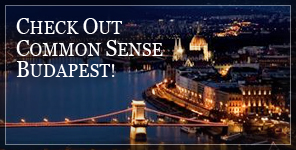 Check Out Common Sense Budapest